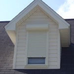 Roll-up on dormer