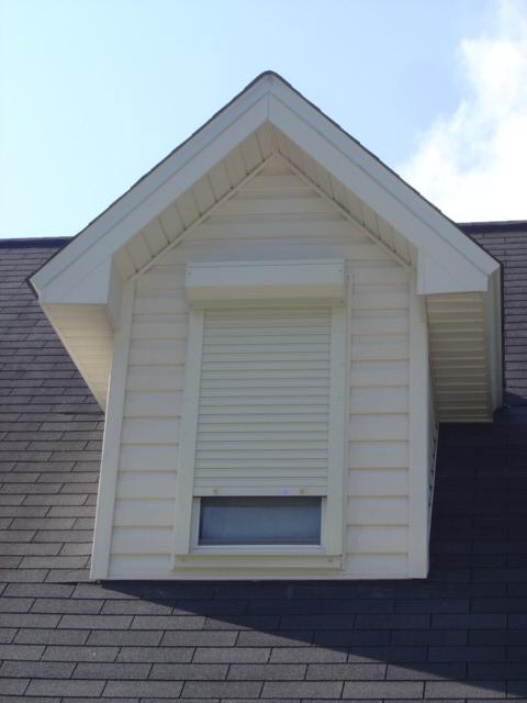 Roll up shutters nu code shutters - Dormer skylight best choice ...
