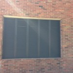 Wall of shutters made of Z Blade Shutters